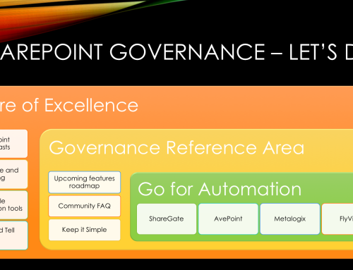 SharePoint Online Governance Tips – Let's Make it happen