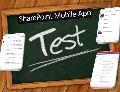 Reviewing SharePoint iOS Mobile Application – Right step in the right direction
