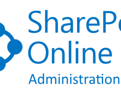 SharePoint Online Administration Center – Overview