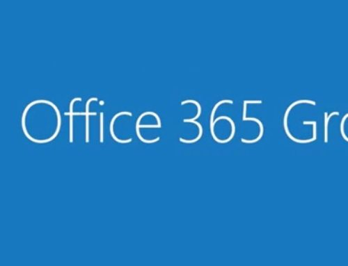 Office 365 Groups – Collaborative Service in the Cloud